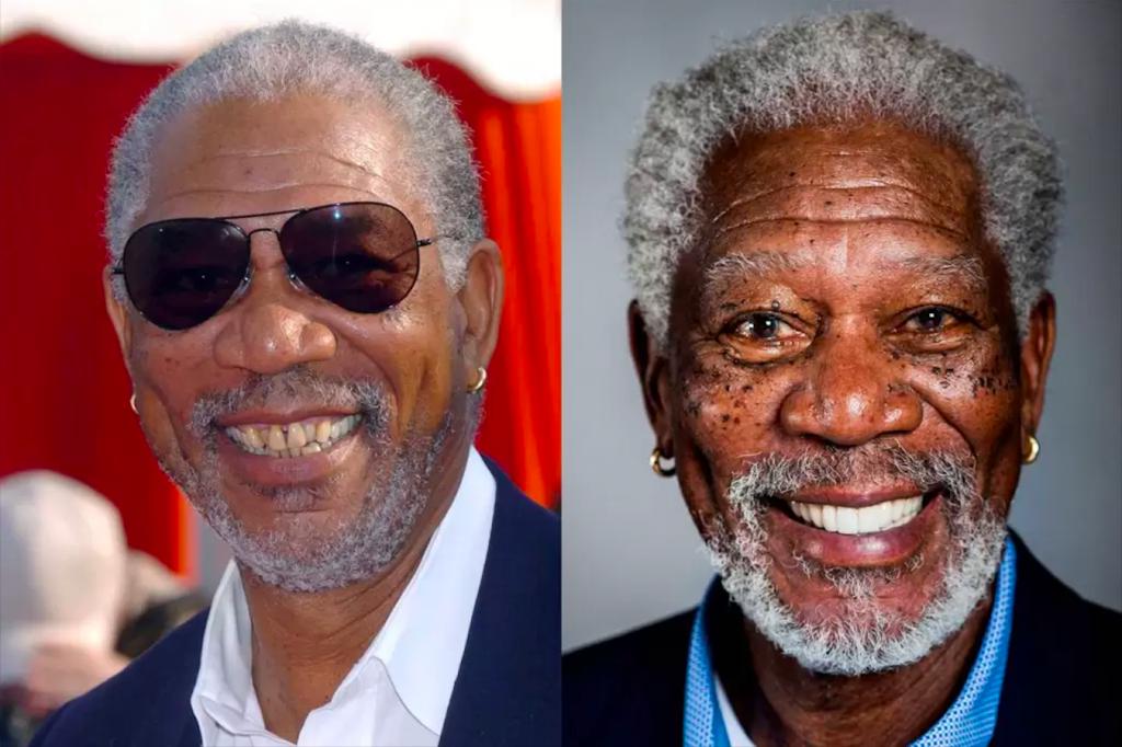 Dilşlerini Yaptıran Ünlüler - Morgan Freeman